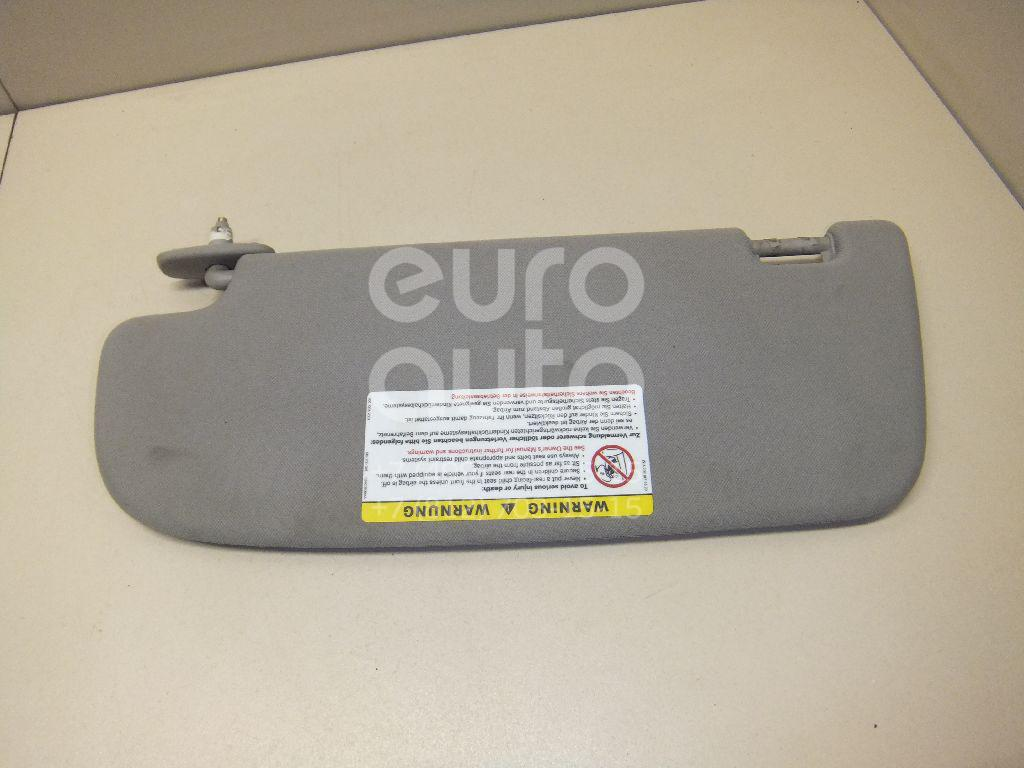 Купить Козырек солнцезащитный (внутри) Mercedes Benz W221 2005-2013; (22181002107J16)