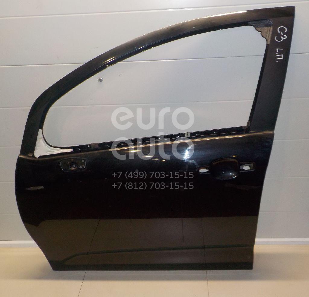Купить Дверь передняя левая Citroen C3 2009-2016; (9002AZ)