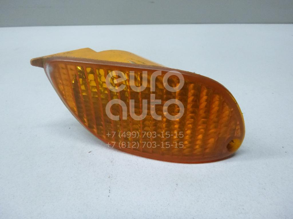 Купить Указатель поворота в бампер правый желтый Ford Focus I 1998-2005; (1215917)
