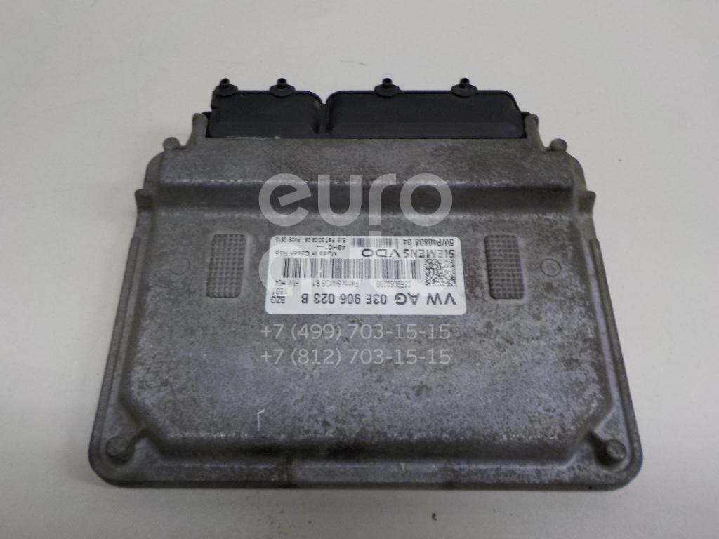Купить Блок управления двигателем Skoda Fabia 2007-2015; (03E906023B)
