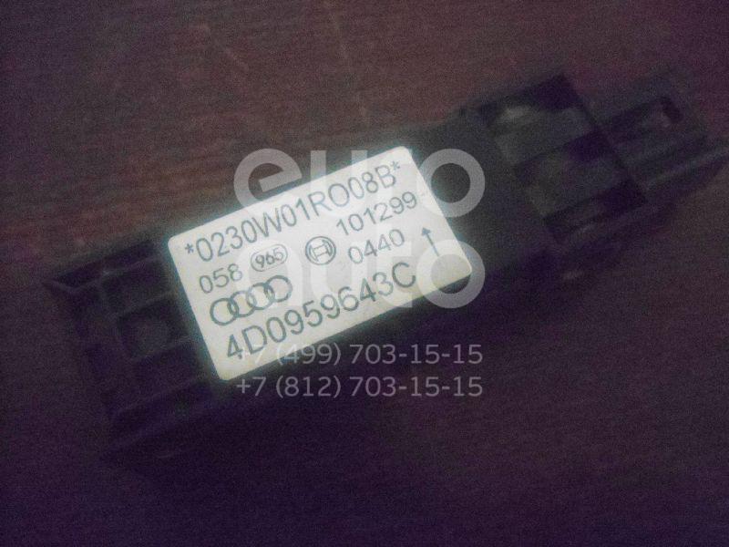 Купить Датчик AIR BAG Audi A8 [4D] 1999-2002; (4D0959643C)