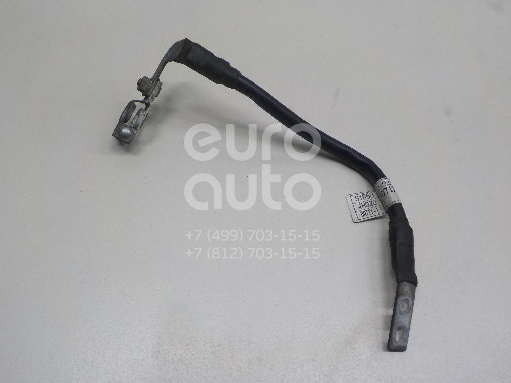 Купить Клемма аккумулятора минус Hyundai Starex H1/Grand Starex 2007-; (918604H020)