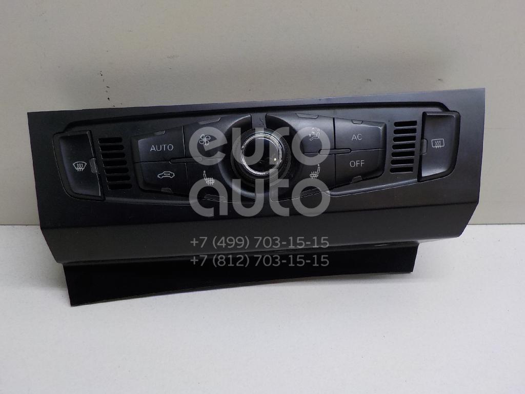 Купить Блок управления климатической установкой Audi A4 [B8] 2007-2015; (8T1820043AHXZF)