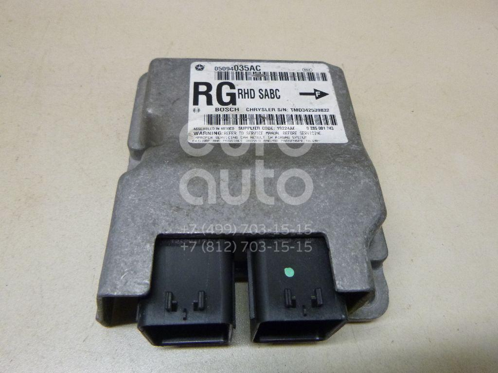 Купить Блок управления AIR BAG Chrysler Voyager/Caravan (RG/RS) 2000-2008; (5094035AB)