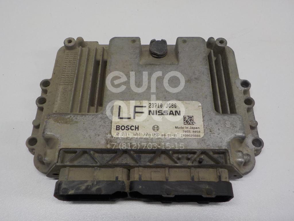 Купить Блок управления двигателем Nissan X-Trail (T31) 2007-2014; (23710JG86A)