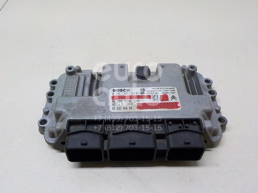 Купить Блок управления двигателем Peugeot 307 2001-2008; (194096)