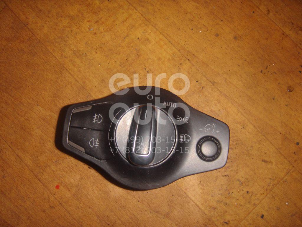 Купить Переключатель света фар Audi A4 [B8] 2007-2015; (8K0941531ALWEP)
