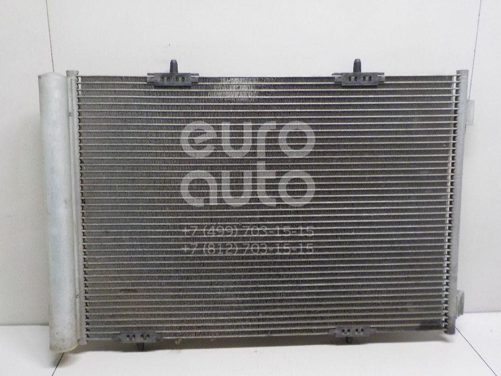 Радиатор кондиционера (конденсер) Peugeot 208 2012-; (9683562980)