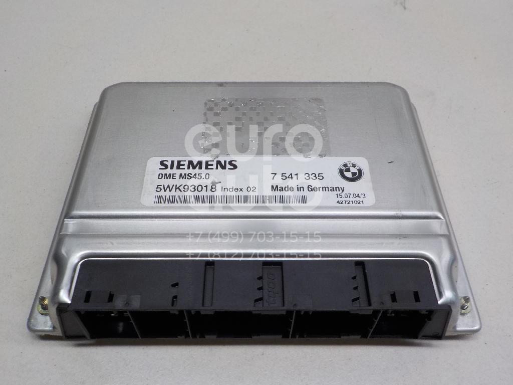 Купить Блок управления двигателем BMW X3 E83 2004-2010; (12147541335)