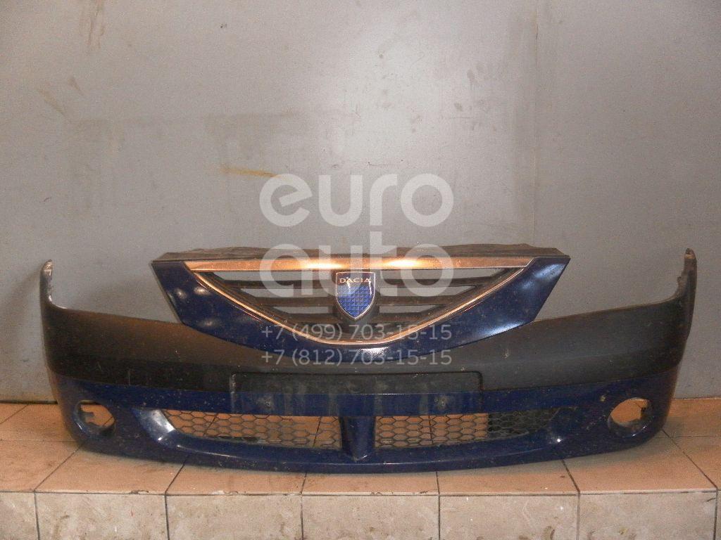 Бампер передний для Renault Logan 2005-2014 - Фото №1
