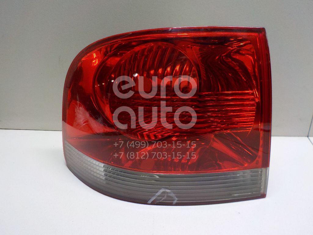 Фонарь задний наружный левый для VW Touareg 2002-2010 - Фото №1