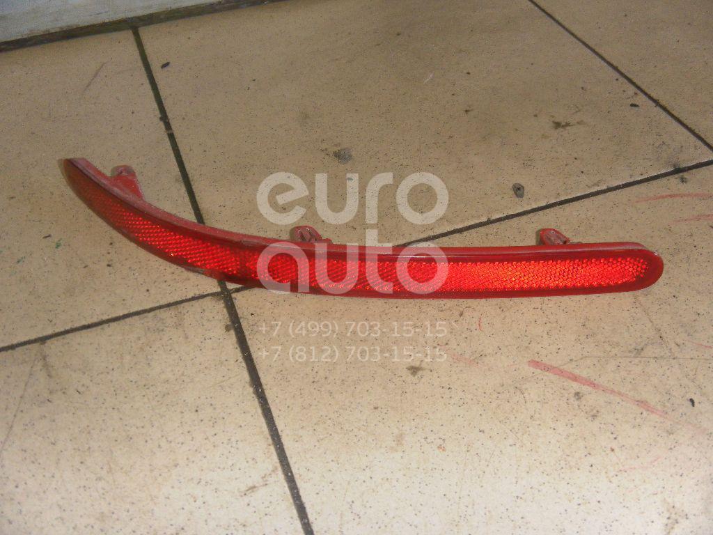 Отражатель в бампер задний правый для VW Touareg 2002-2010 - Фото №1
