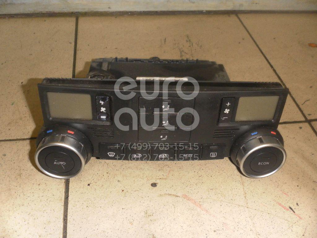 Блок управления климатической установкой для VW Touareg 2002-2010 - Фото №1