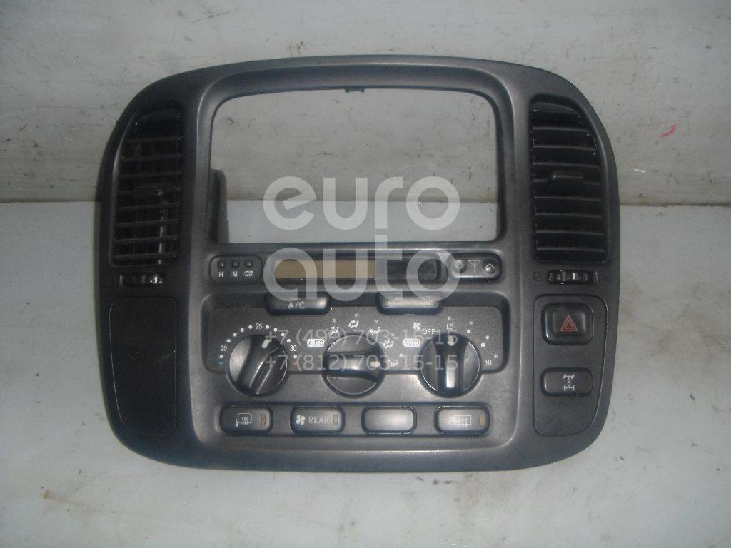 Блок управления климатической установкой для Toyota Land Cruiser (100) 1998-2007 - Фото №1