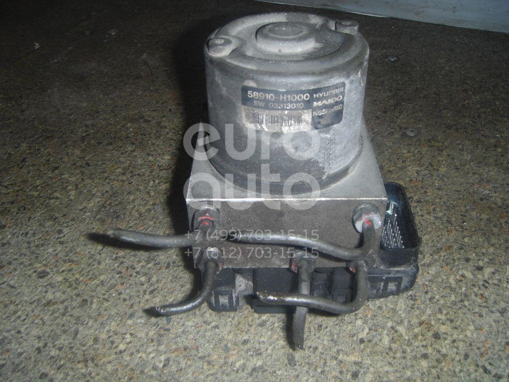 Блок ABS (насос) для Hyundai Terracan 2001-2007 - Фото №1