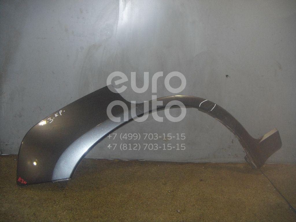 Накладка заднего крыла правого для Hyundai Terracan 2001-2007 - Фото №1