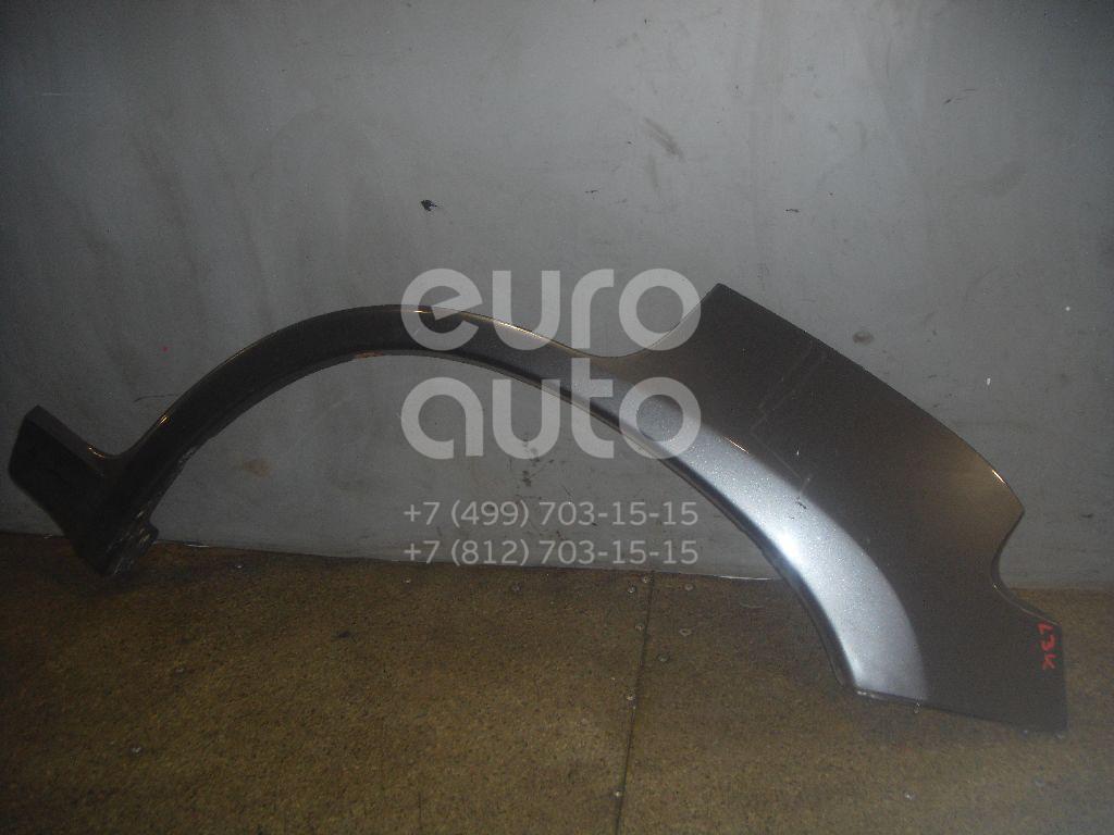 Накладка заднего крыла левого для Hyundai Terracan 2001-2007 - Фото №1