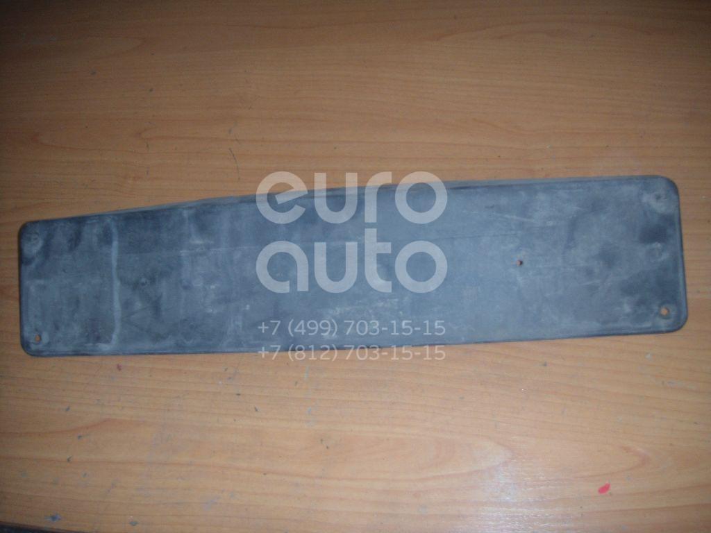 Накладка переднего бампера под номер для Mercedes Benz C209 CLK coupe 2002-2010 - Фото №1