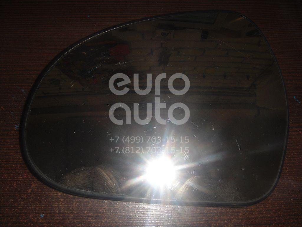 Стекло зеркала электрического левого для Peugeot 207 2006-2013 - Фото №1