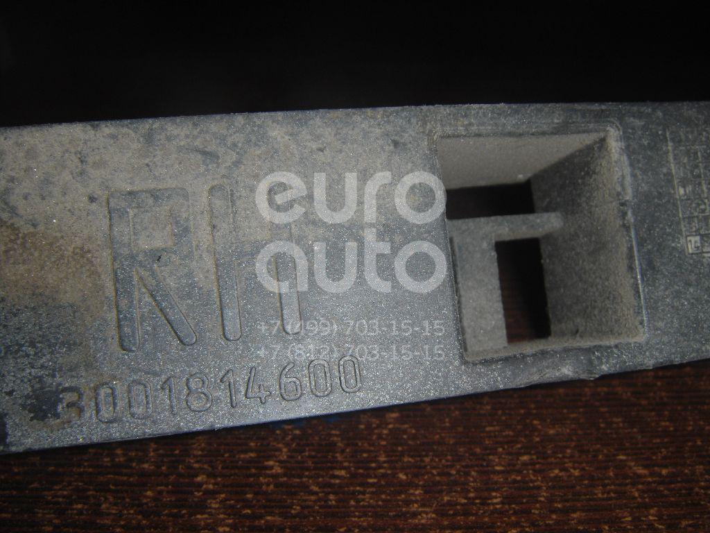 Направляющая переднего бампера правая для Ford Focus II 2008-2011 - Фото №1