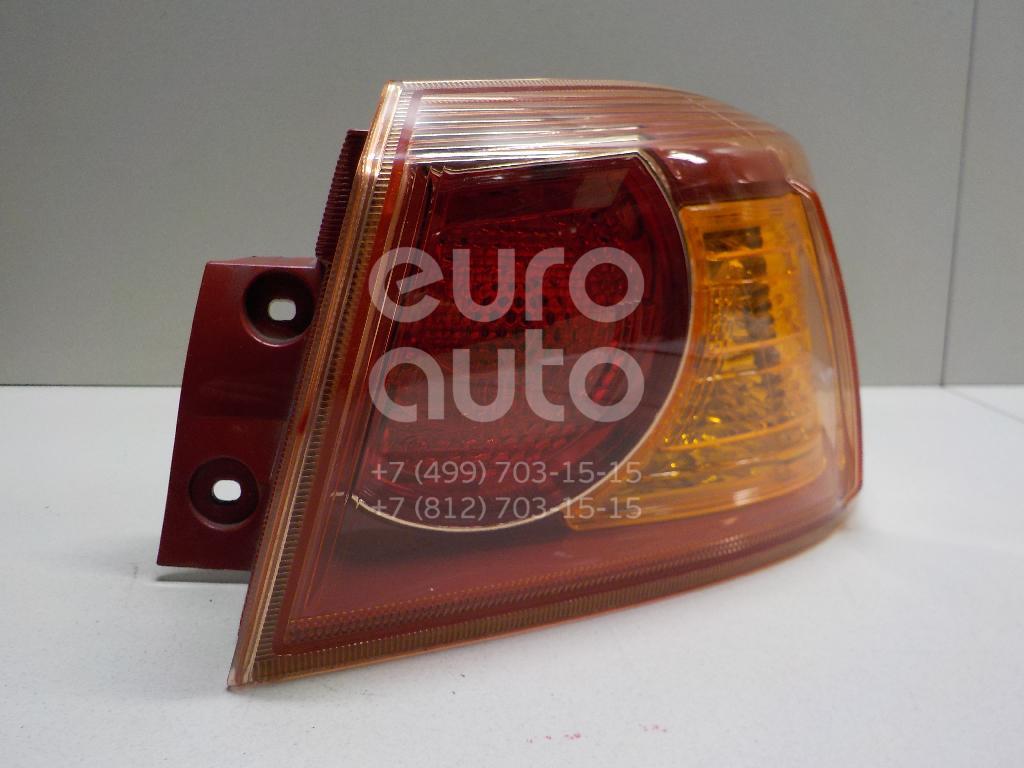 Фонарь задний наружный правый для Mitsubishi Lancer (CX,CY) 2007> - Фото №1