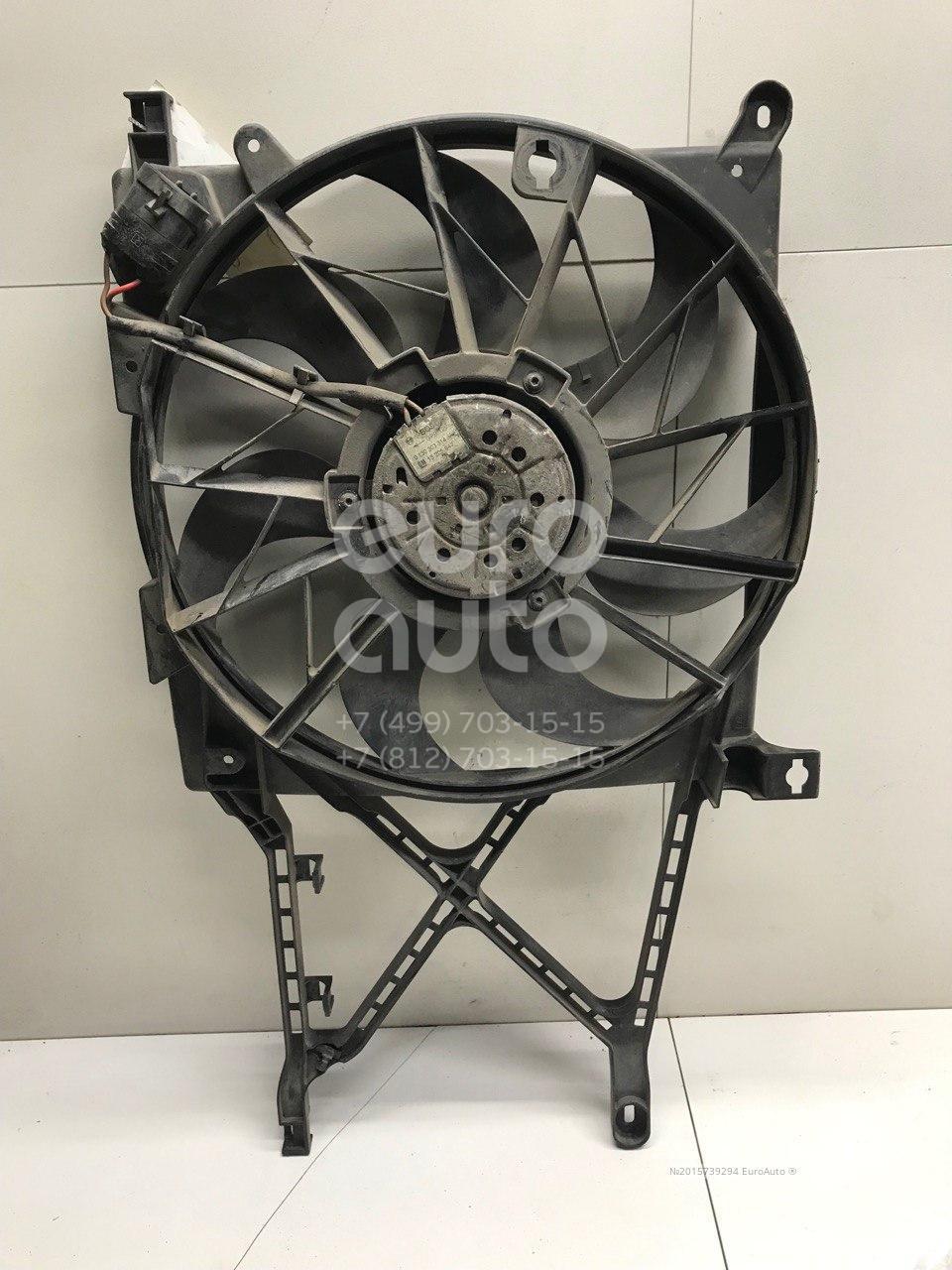 Вентилятор радиатора для Opel Astra H / Family 2004-2015 - Фото №1