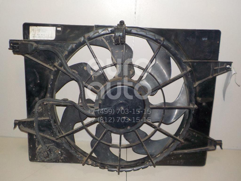 Вентилятор радиатора для Hyundai Tucson 2004-2010 - Фото №1