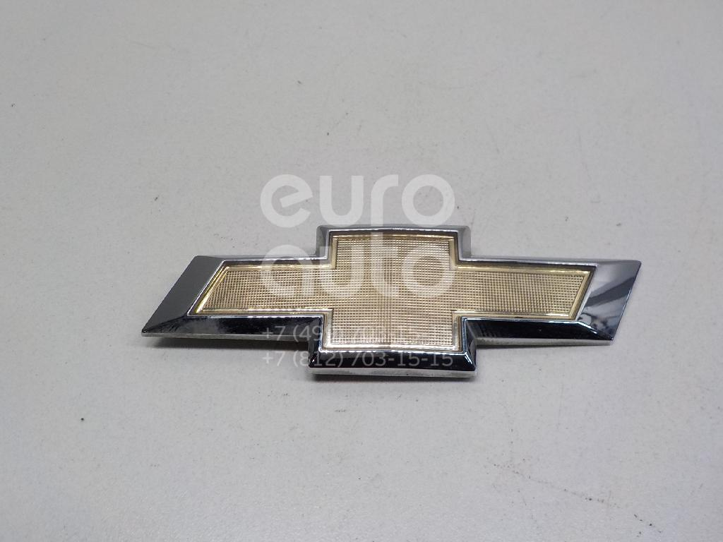Купить Эмблема на крышку багажника Chevrolet Aveo (T300) 2011-; (95122466)