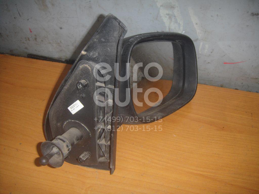 Зеркало правое механическое для Renault Kangoo 2003-2007 - Фото №1