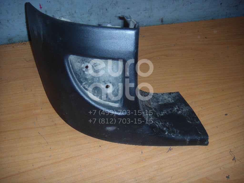 Накладка заднего бампера левая для Renault Kangoo 2003-2007 - Фото №1