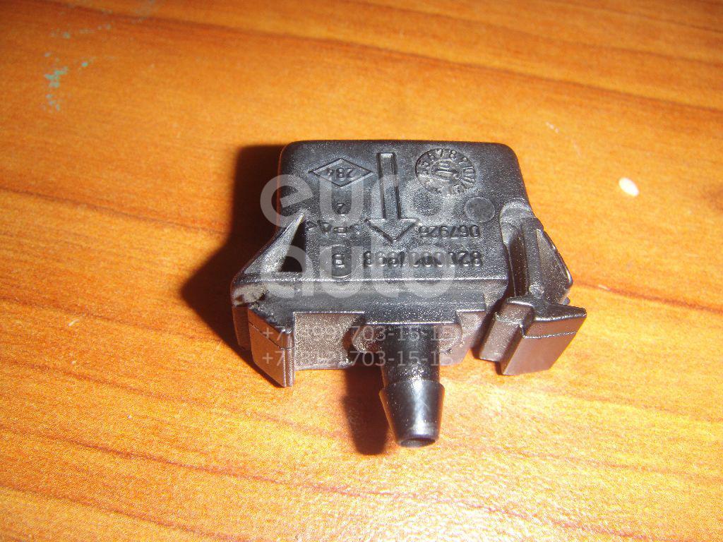 Форсунка омывателя лобового стекла для Renault Laguna II 2001-2008;Vel Satis 2002-2009 - Фото №1