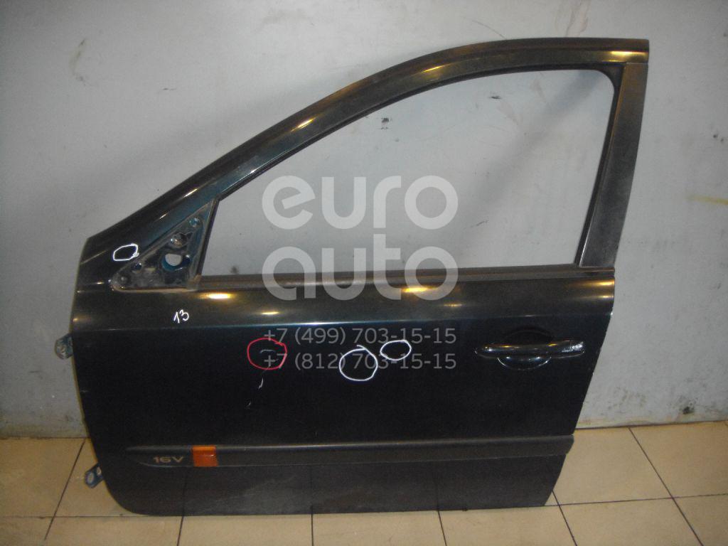Дверь передняя левая для Renault Laguna II 2001-2008 - Фото №1