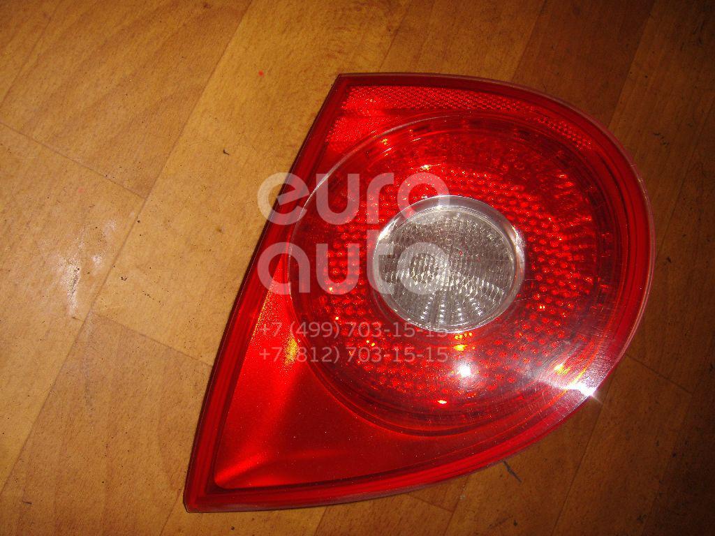 Фонарь задний внутренний правый для VW Golf V 2003-2009 - Фото №1