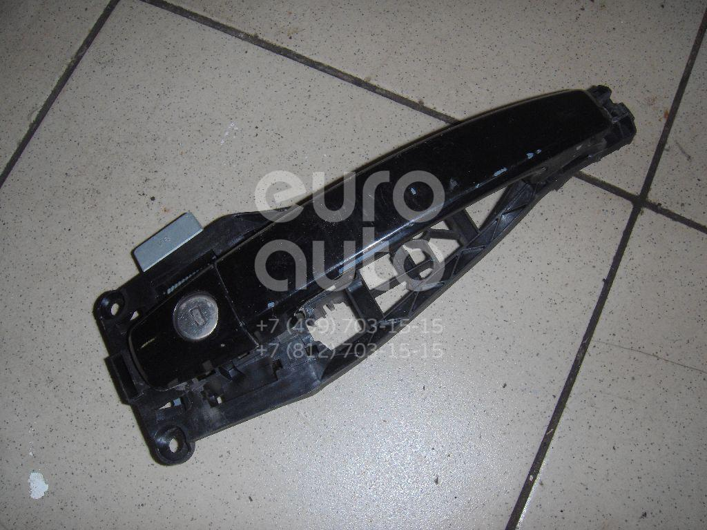 Ручка двери наружная для Opel Astra H / Family 2004>;Tigra TwinTop 2004>;Zafira B 2005-2012 - Фото №1