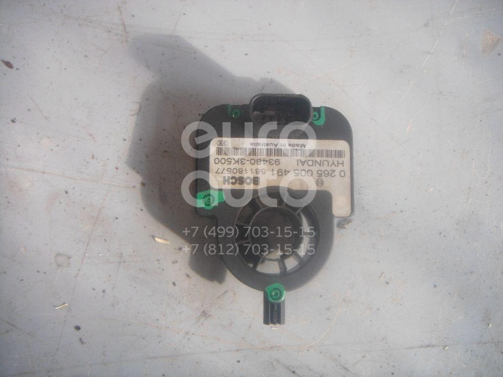 Датчик угла поворота рулевого колеса для Hyundai,Kia Sonata V (NF) 2005-2010;Sorento 2003-2009 - Фото №1
