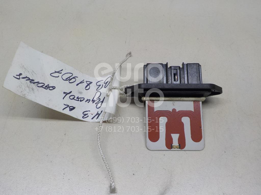 Резистор отопителя для Mazda Mazda 3 (BL) 2009-2013 - Фото №1