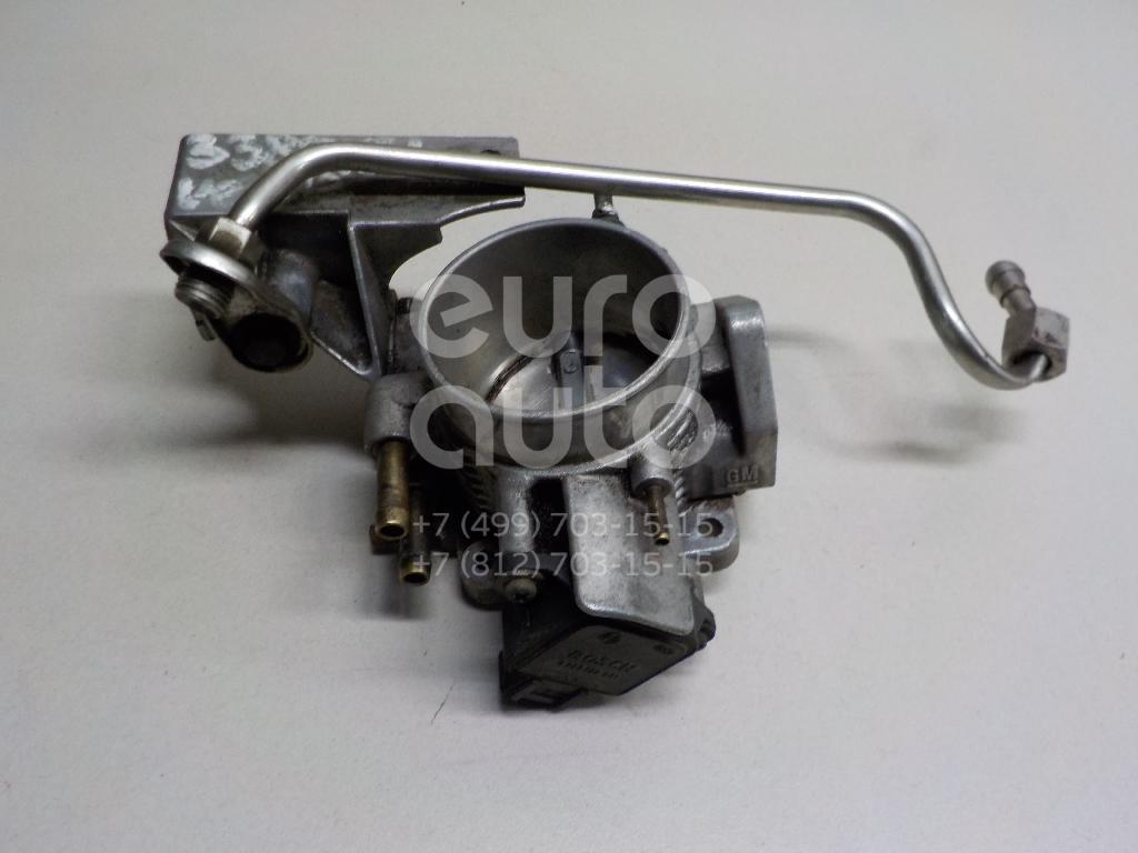 Заслонка дроссельная механическая для Opel Vectra B 1995-1999;Vectra B 1999-2002 - Фото №1