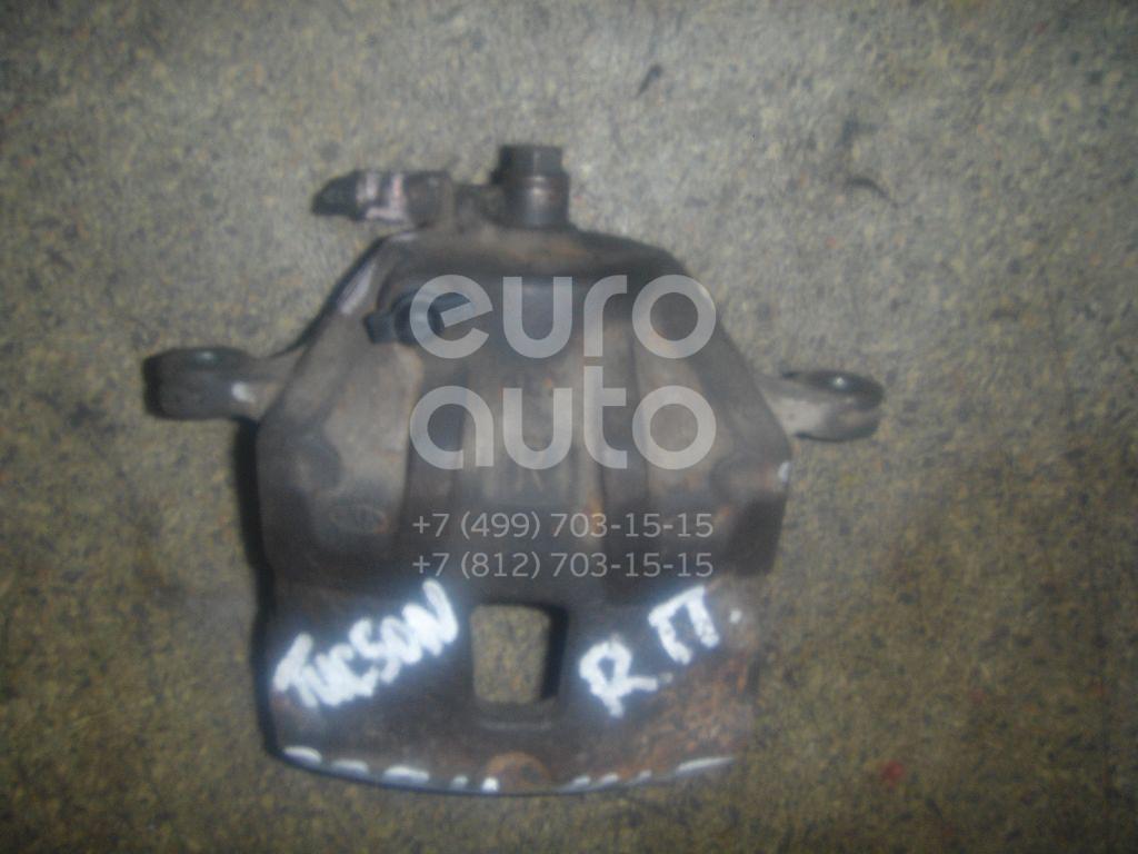 Суппорт передний правый для Hyundai , Kia Tucson 2004-2010;Sportage 2004-2010 - Фото №1