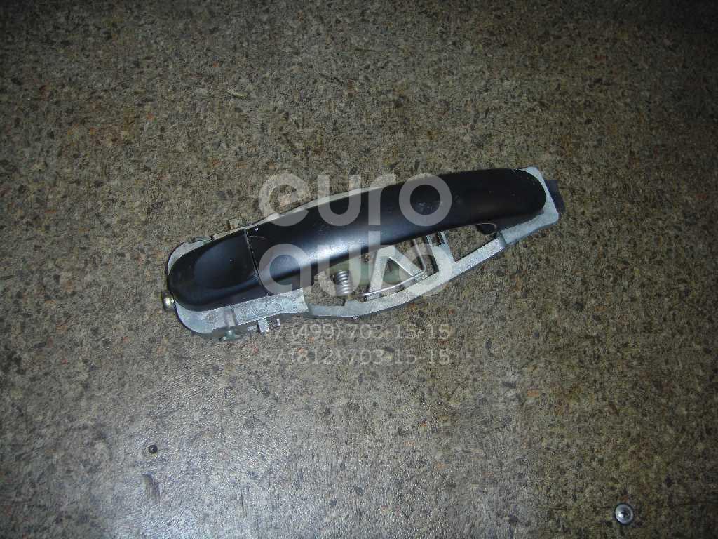 Ручка двери задней наружная правая для VW Touran 2003-2010 - Фото №1