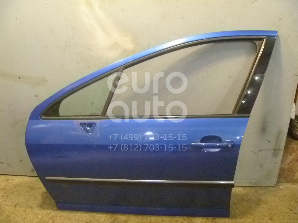 Дверь передняя левая для Peugeot 407 2004-2010 - Фото №1