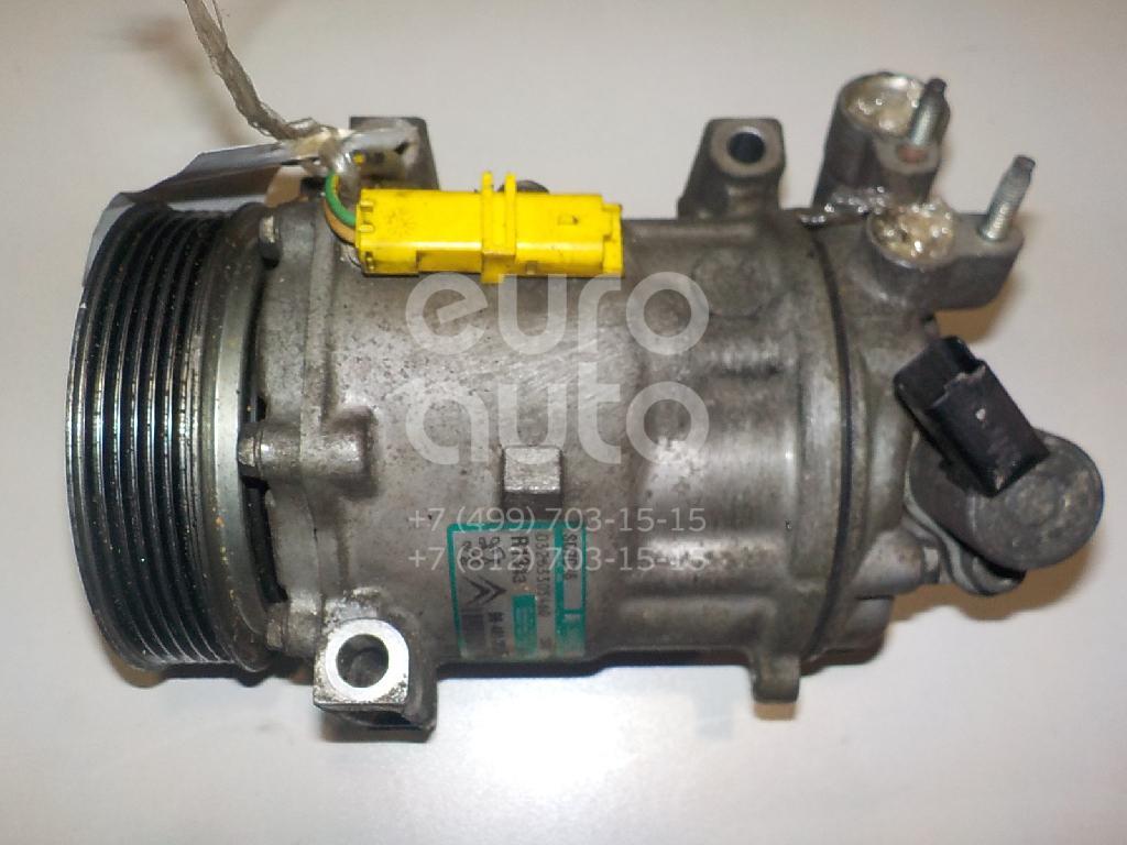 Компрессор системы кондиционирования для Peugeot 407 2004-2010 - Фото №1