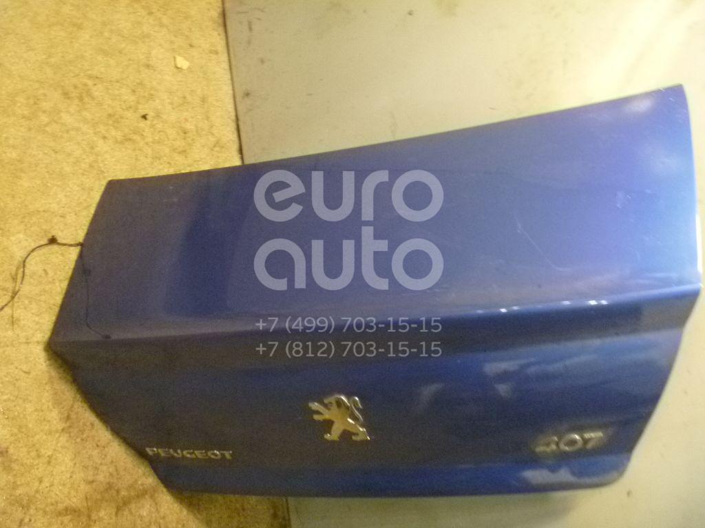 Крышка багажника для Peugeot 407 2004> - Фото №1