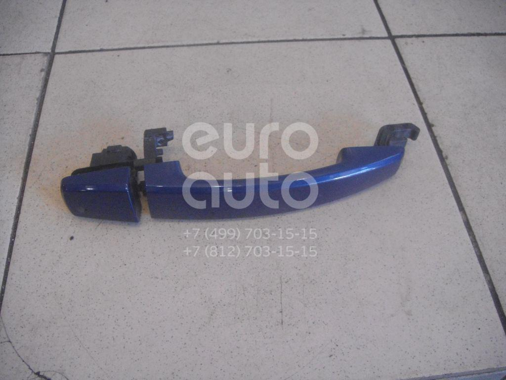 Ручка двери наружная для Opel Zafira B 2005-2012;Astra H / Family 2004>;Tigra TwinTop 2004> - Фото №1