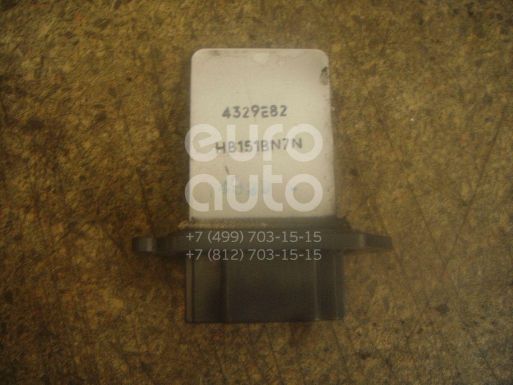 Резистор отопителя для Mazda Mazda 3 (BK) 2002-2009;Mazda 5 (CR) 2005-2010 - Фото №1