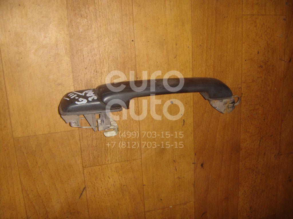 Ручка двери задней наружная для VW Golf III/Vento 1991-1997 - Фото №1