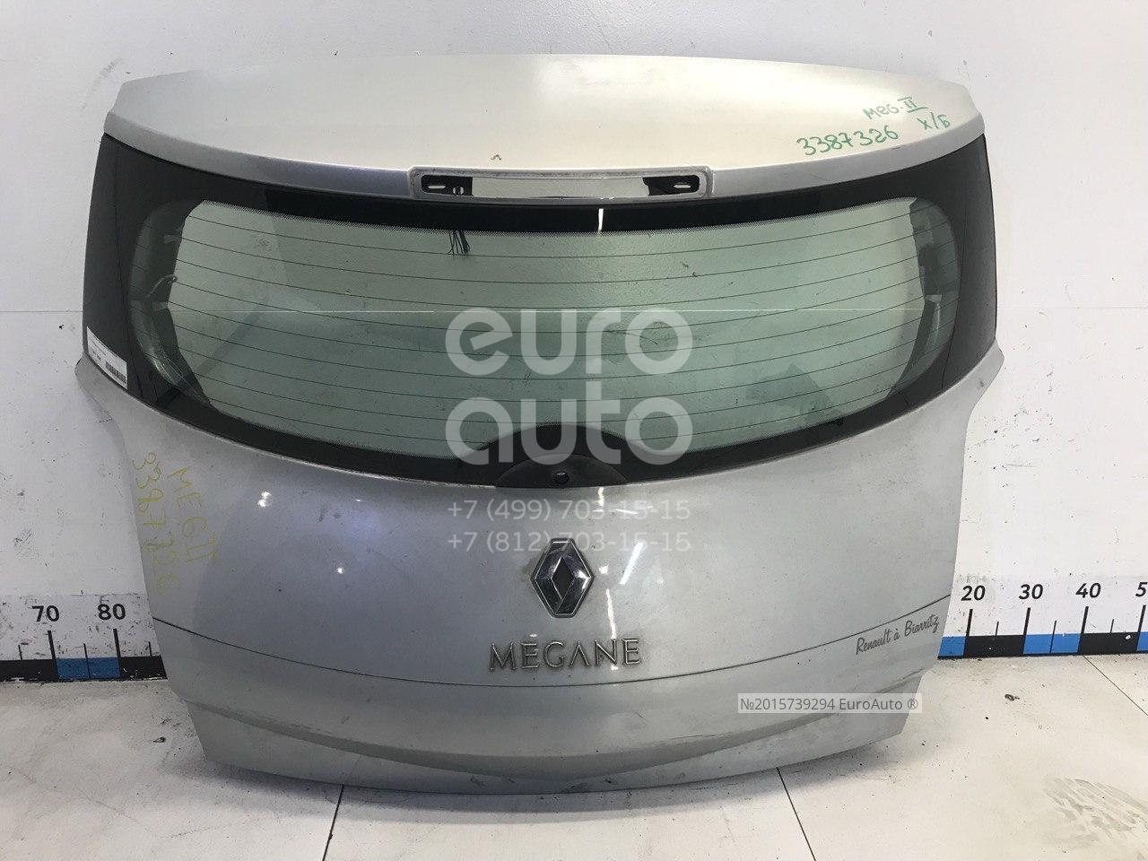Дверь багажника со стеклом для Renault Megane II 2002-2009 - Фото №1