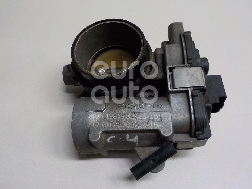Заслонка дроссельная электрическая для Citroen C4 2005-2011 - Фото №1