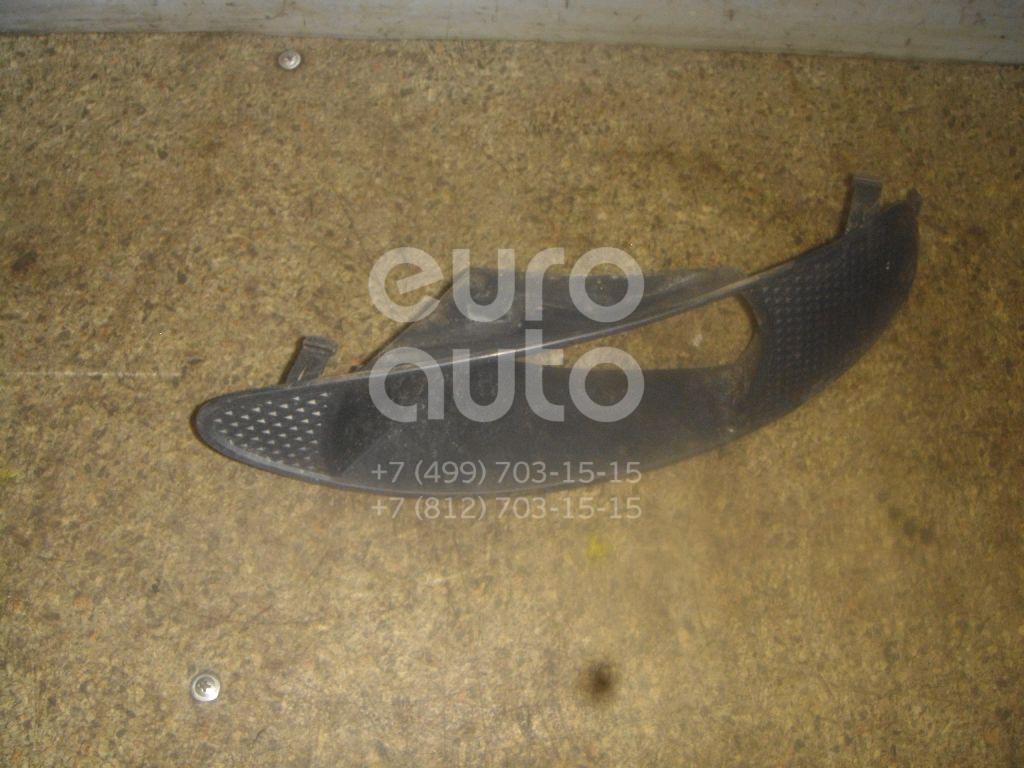 Решетка в бампер правая для Toyota Corolla E12 2001-2006 - Фото №1