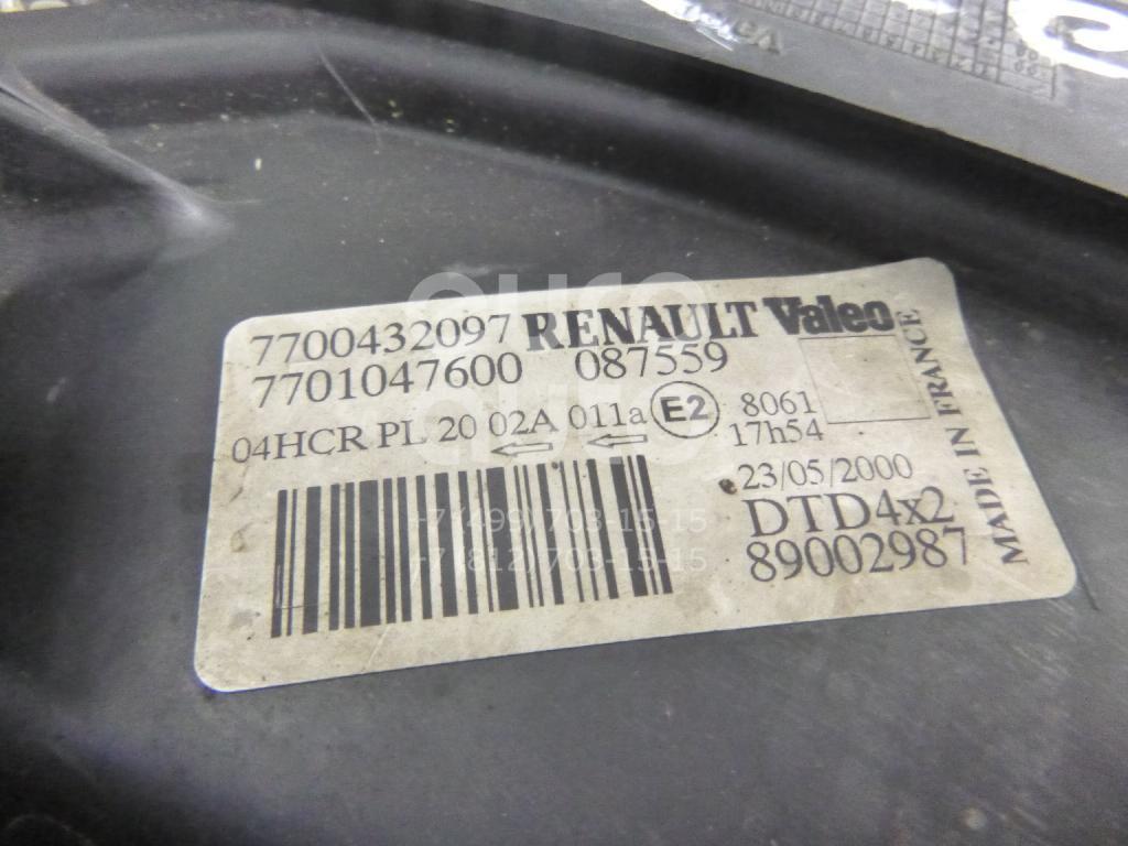 Фара правая для Renault Scenic 1999-2003 - Фото №1