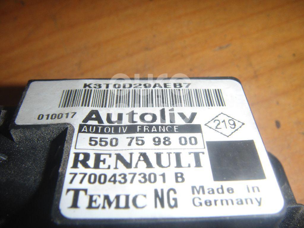 Датчик AIR BAG для Renault Scenic 1999-2003;Scenic RX4 2000-2003 - Фото №1